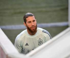 Ramos could be made captain for the Olympics. AFP