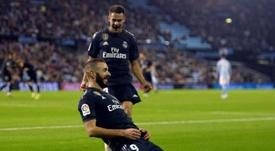 Benzema suma seis goles fuera de casa. AFP