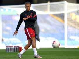 Déjà un record pour Thiago face à Chelsea. afp