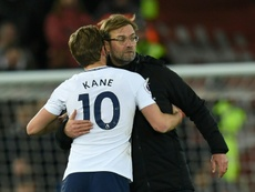 Liverpool manager Jurgen Klopp believes too much physical demand is being placed Kane. AFP
