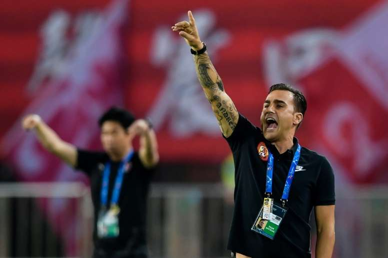Lippi, ayudante de Cannavaro en China. AFP