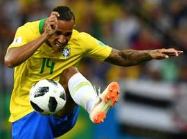 Danilo injured himself playing against Argentina in a friendly. AFP