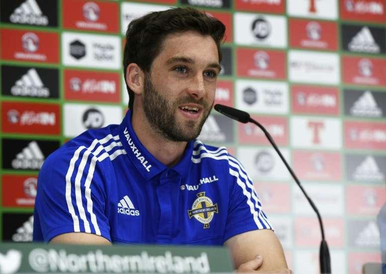 Will Grigg llega al Sunderland. AFP