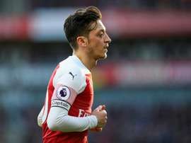 Ozil could move to Inter in Jnauary. AFP