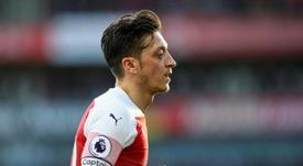 El alemán suena para abandonar el Arsenal. AFP