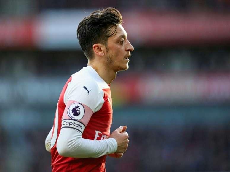 Özil, en un momento delicado. AFP