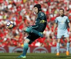 Cech poderá regressar ao Chelsea. AFP