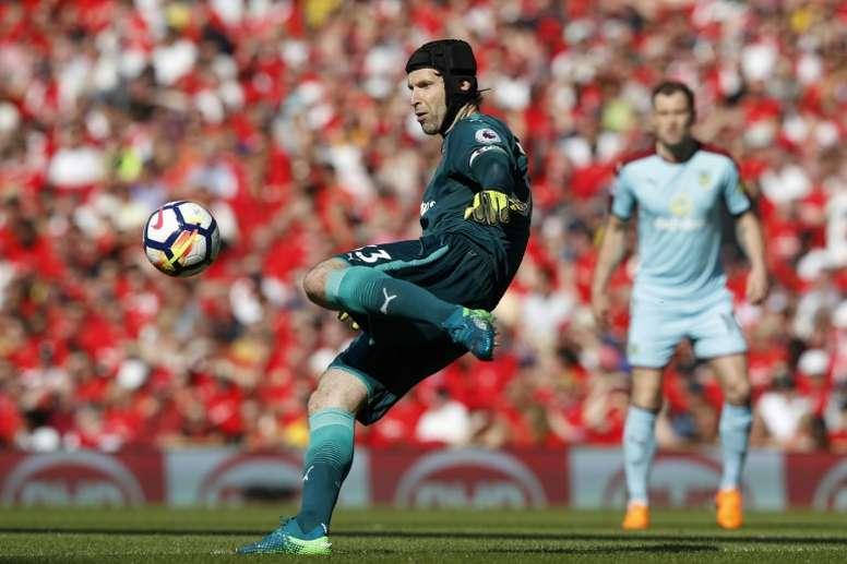 Cech avait annoncé sa retraite. AFP
