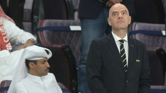 Infantino is excited about the new Club World Cup in 2021. AFP