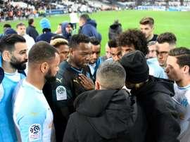 Marseille doit sortir la tête de l'eau. AFP