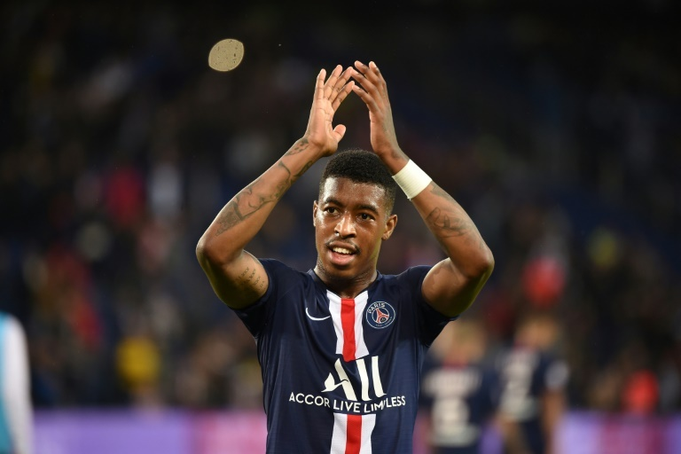 OFFICIEL: Presnel Kimpembe prolonge au PSG. AFP