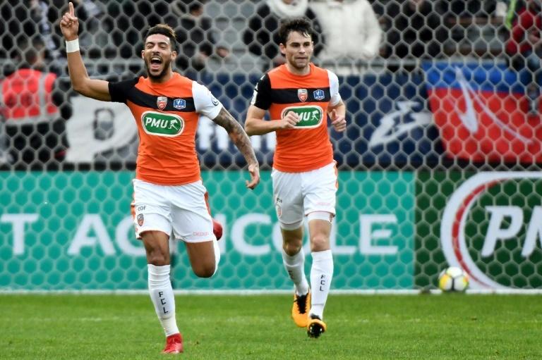 Lorient domine largement le GFC Ajaccio