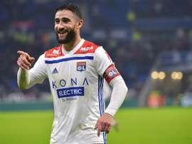 Nabil Fekir AS Monaco. AFP