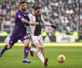 Fiorentina anuncia seis casos positivos de COVID-19. AFP