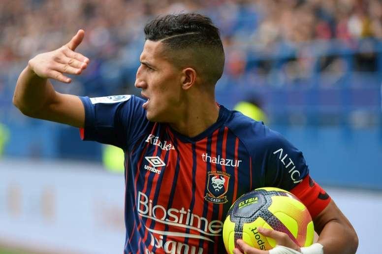Fajr a donné la victoire aux Caennais face à Dijon. AFP