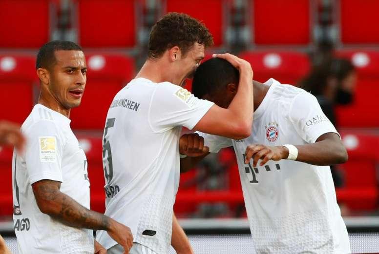 El Bayern dona 460.000 euros a equipos amateurs. AFP