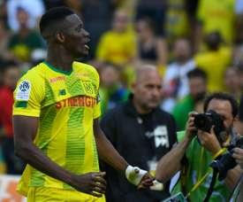 Kalifa Coulibaly, auteur de l'unique but du match contre Reims en L1. AFP