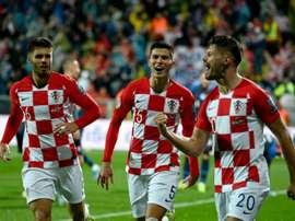 La Croatie nouvelle génération prête à croquer l'Euro 2020. AFP