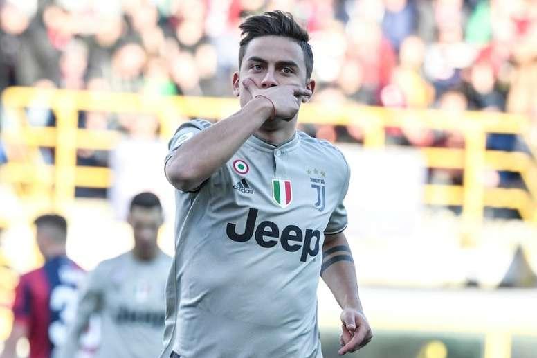 La Juve réfléchit à vendre Dybala pour faire venir Joao Felix. AFP