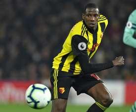 Doucouré explique son choix de rejoindre Everton. AFP