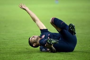 Lucas Hernandez has kept on getting injured. AFP