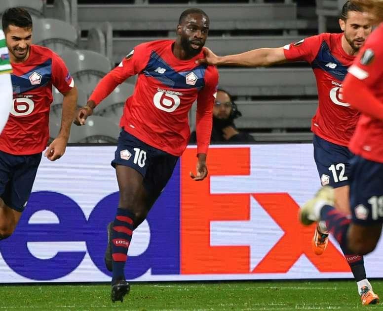 Lille arrache le nul contre le Celtic Glasgow. AFP