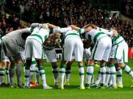 Varios jugadores del Celtic podrían acabar en el Swindon Town. AFP