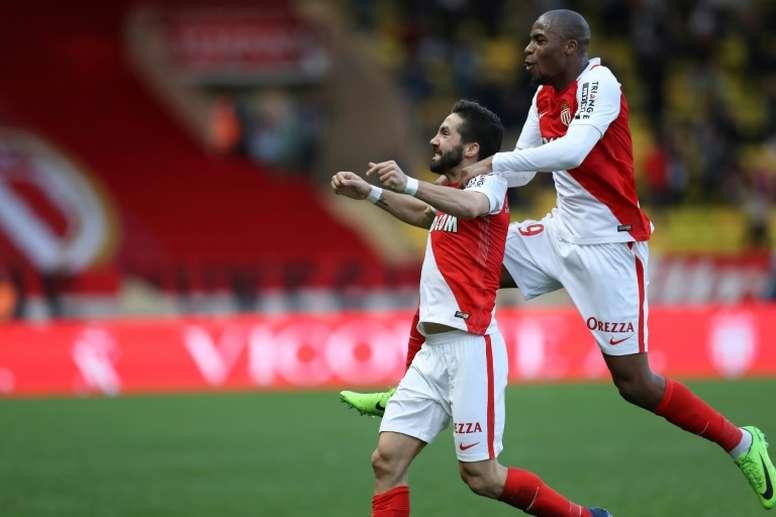 Moutinho anotó un golazo. AFP