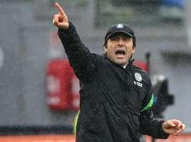 Conte elogia la Juventus. AFP