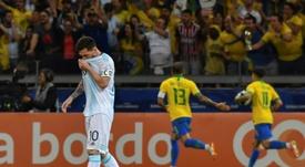 Messi y otras decepciones de la Copa América. AFP