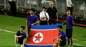 La Corée du Nord disputera ses deux matches de qualification face à la Malaisie en Thaïlande. AFP