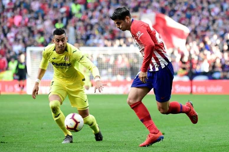 El Villarreal-Atleti podría jugarse en Miami. AFP/Archivo