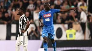 El United podría hacer un intento por el del Nápoles. AFP