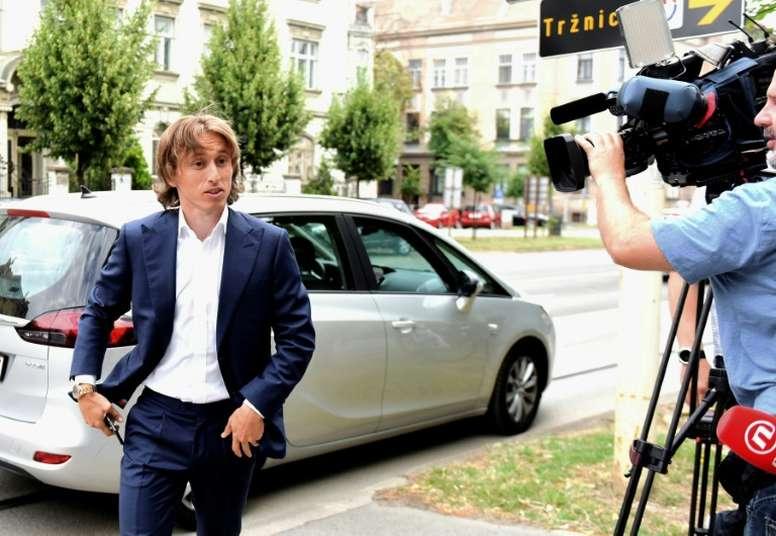 L'avenir de Modric reste flou. AFP