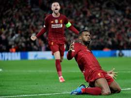 Wijnaldum is closer to staying at Liverpool. AFP