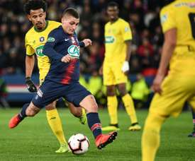PSG want to tie Verratti down. AFP