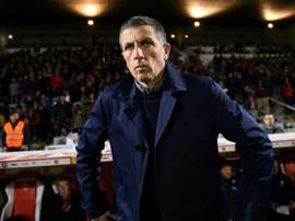 Thierry Laurey fait appel à l'amour des supporters du Racing. AFP