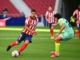 Suárez falou após sua espetacular estreia no Atlético de Madrid. AFP