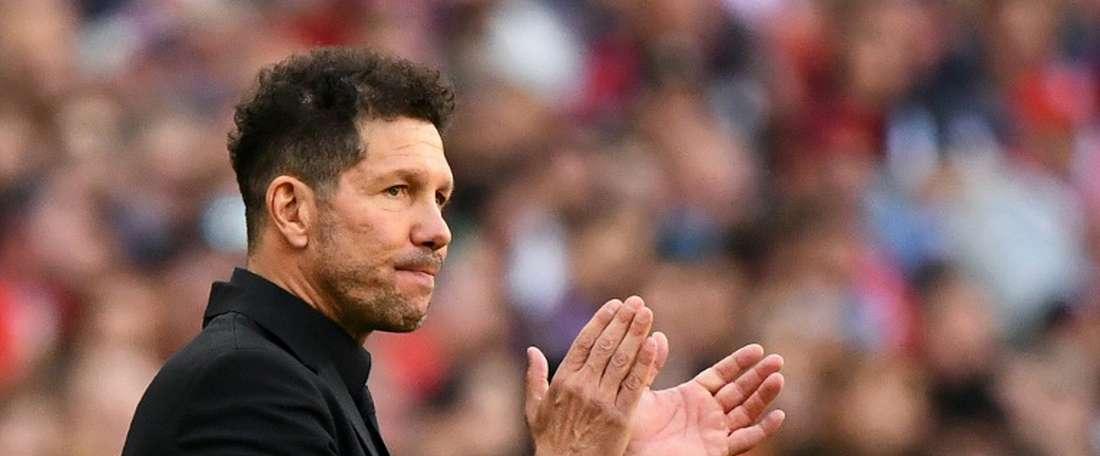 L'Atlético Madrid résiste. AFP