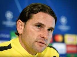 Gerardo Seoane achacó la derrota a varios errores puntuales. AFP/Archivo