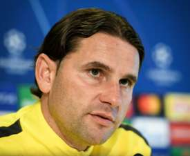 Young Boys manager Gerardo Seoane said the pitch will not be an issue. AFP