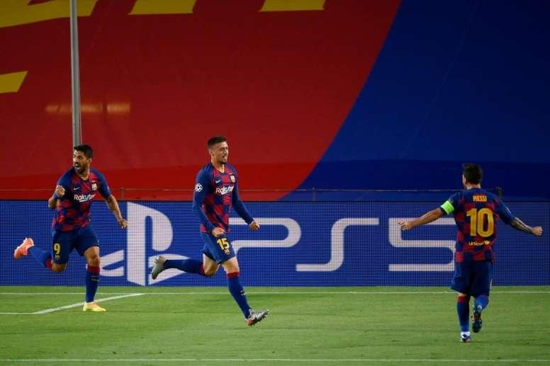 Tras Ter Stegen, el Barcelona renovará a Lenglet y a De Jong. AFP