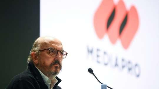 Mediapro assigne Canal+ en justice. afp