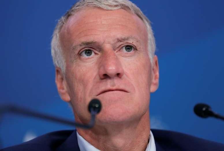 Deschamps a parlé des éliminations des clubs français en Coupes d'Europe. AFP