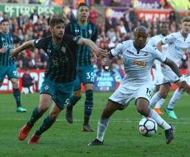 Il a joué cinq matches officiels cette saison. AFP