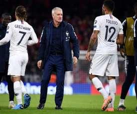 Deschamps defendeu o cancelamento a Ligue 1. AFP