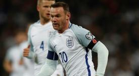 Homenaje a Rooney. AFP