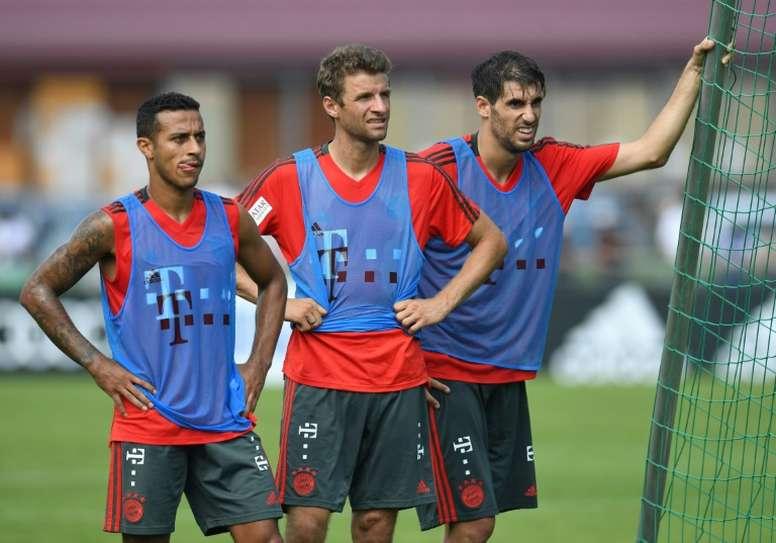 Javi Martinez verso l'addio al Bayern. AFP