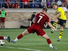 Dortmund commence fort face à Liverpool. AFP
