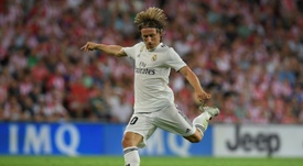 Real Madrid, Luka Modric. AFP